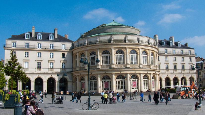 Opéra de Rennes (35 - Ille et Vilaine - Bretagne)