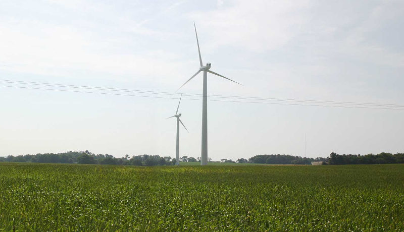 Le premier projet de développement durable que les particuliers peuvent financés - Des éoliennes en Loire-Atlantique.