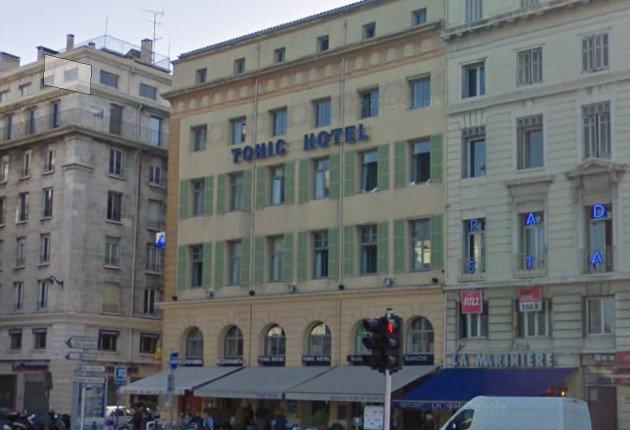 L'Hotel Tonic sur le Vieux port de Marseille, l'un des 5 établissements de Seryotel.